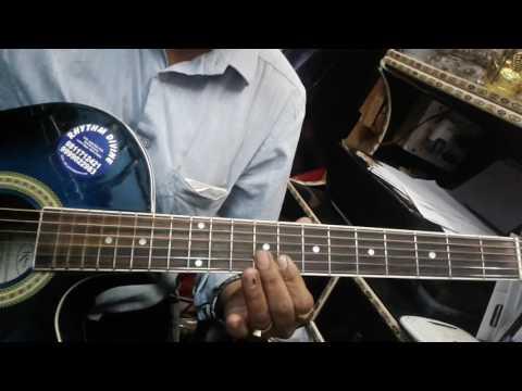 Do Lafzon Ki Hai  Guitar Tab Lesson  The Great Gambler  Rhythm Divine