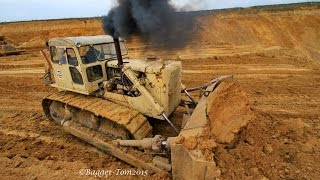 !!!Specialvideo!!! Caterpillar CAT D9G in action !