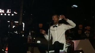 Stromae - Tous Les Memes(clips) (Live@ the Boulevard Pool, Las Vegas, 4-17-15)