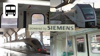 🔊🚆 All You Can Hear Siemens GTO-VVVF & IGBT-VVVF Metro, Suburban and High-Speed Trains! 🚆🔊