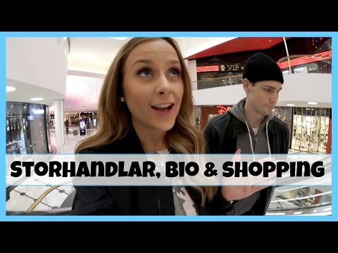 VLOGG | Handlar mat, bio & shopping i Mall of Scandinavia