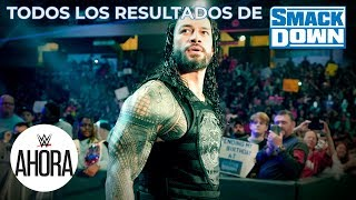 REVIVE SmackDown en 5 (MINUTOS): WWE Ahora, Nov 29, 2019