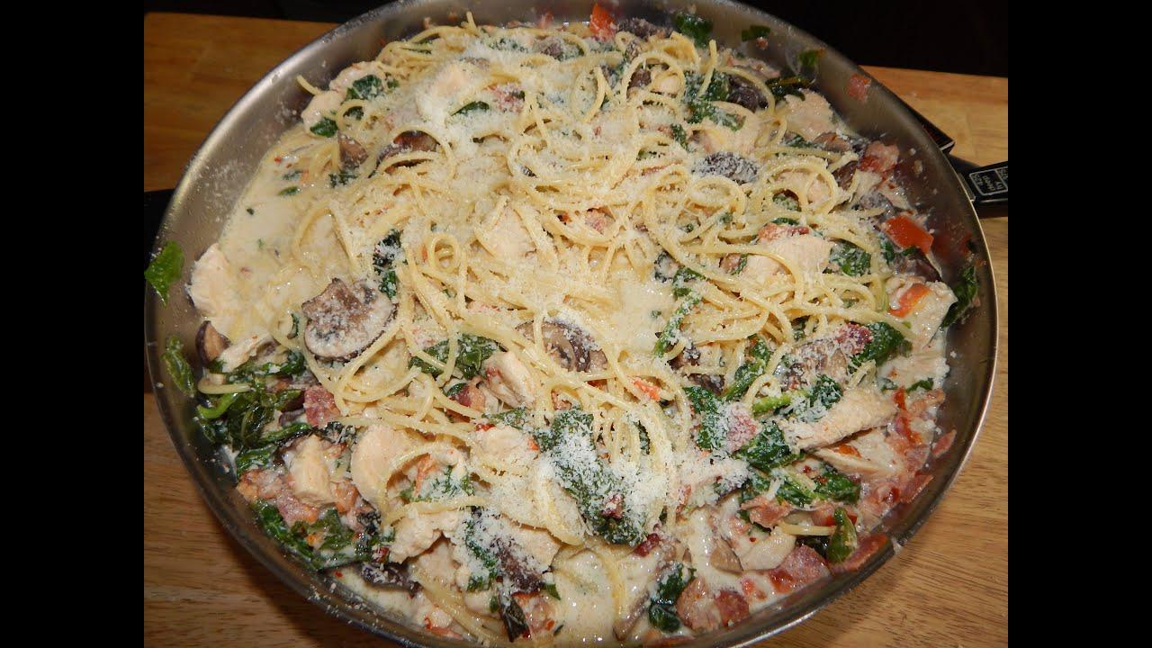 Tuscan Chicken Pasta Recipe - Creamy Chicken Pasta   Doovi