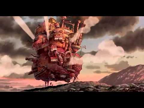 Мультфильм аниме про летающий дом