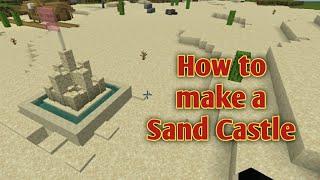 Minecraft Sand Castle Tiktok Hack|Minecraft Castle Tiktok Hacks|minecraft Sand Tiktok Hack|