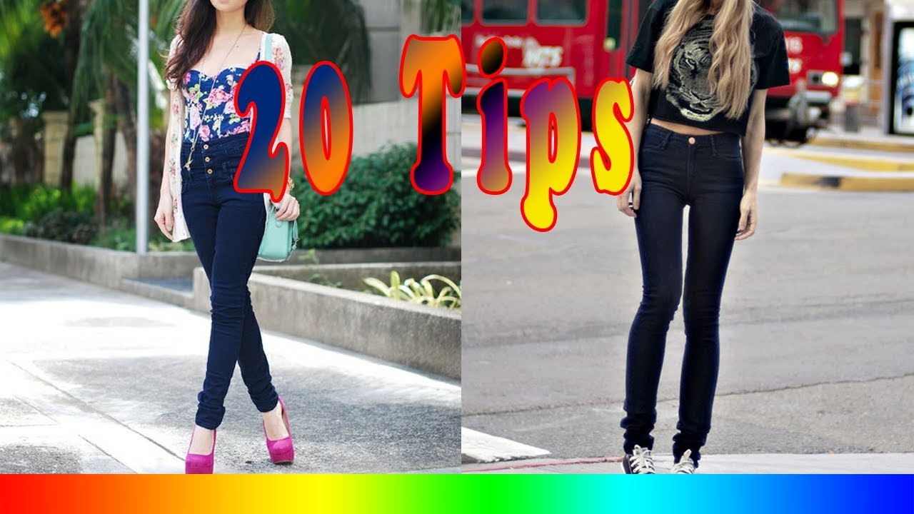 e0d9b09546 20 Style Tips On How To Wear High Waisted Jeans - YouTube