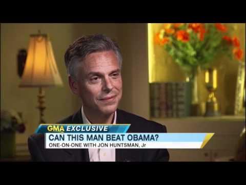 Election 2012: Republican Governor John Huntsman on 'GMA': 'I Am Mormon'