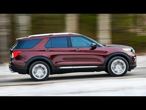 2020 Ford Explorer Platinum - Interior, Exterior & Driving