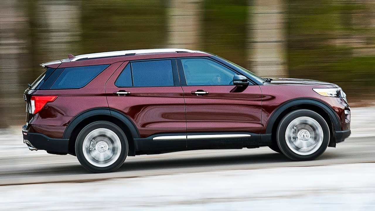 2020 Ford Explorer Platinum Interior Exterior Driving