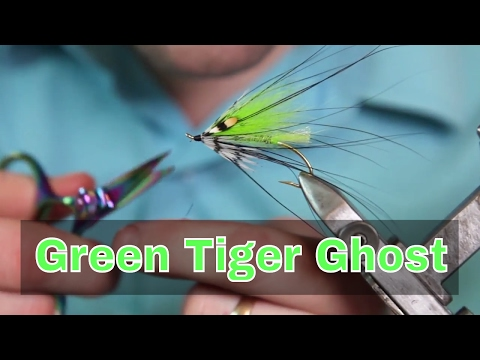 Green Tiger Ghost - Montage de mouche / Fly Tying