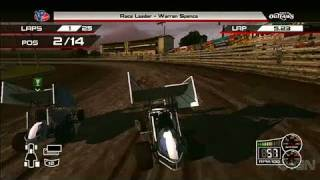 World of Outlaws: Sprint Cars Xbox 360 Gameplay - Race Day
