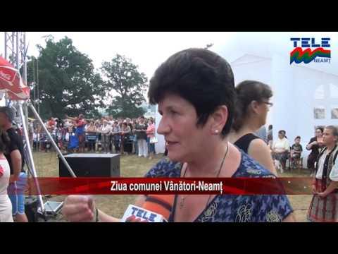 Ziua comunei Vanatori-Neamt (Stirile Tele M)