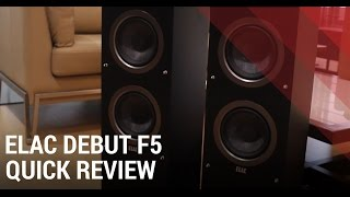 Elac Debut F5 Review – Floorstanding Home Theater Speaker India