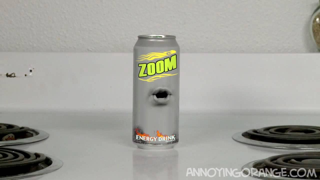 Orange V Energy Drink