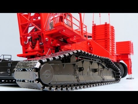 TWH Manitowoc 18000 Crawler Crane by Cranes Etc TV