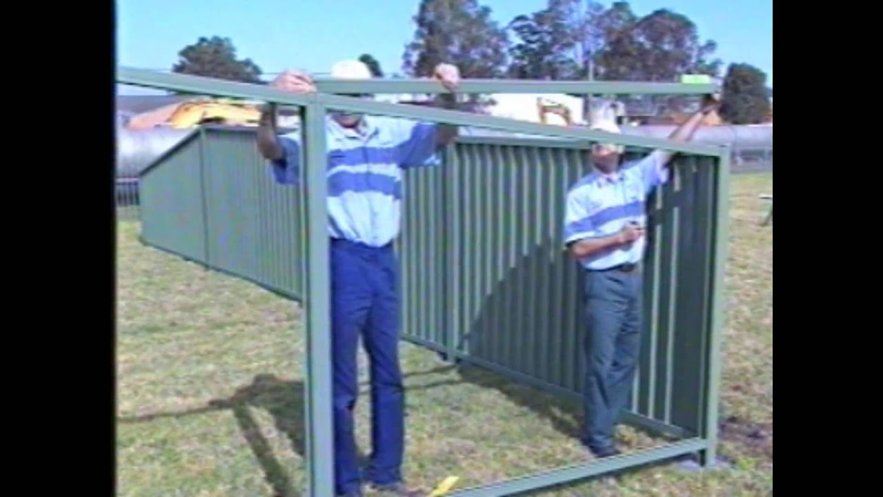 Gramline fencing installation guide part youtube for Fence installation tips