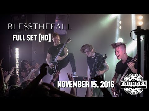 Blessthefall - Full Set HD - Live at the Foundry Concert Club