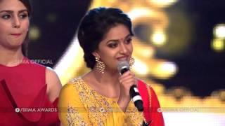 SIIMA 2016 Best Debutant (Female) Tamil | Keerthy Suresh - Idhu Enna Maayam