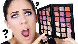 HUDA BEAUTY DESERT DUSK EYESHADOW PALETTE | FIRST IMPRESSIONS, REVIEW & TUTORIAL!!