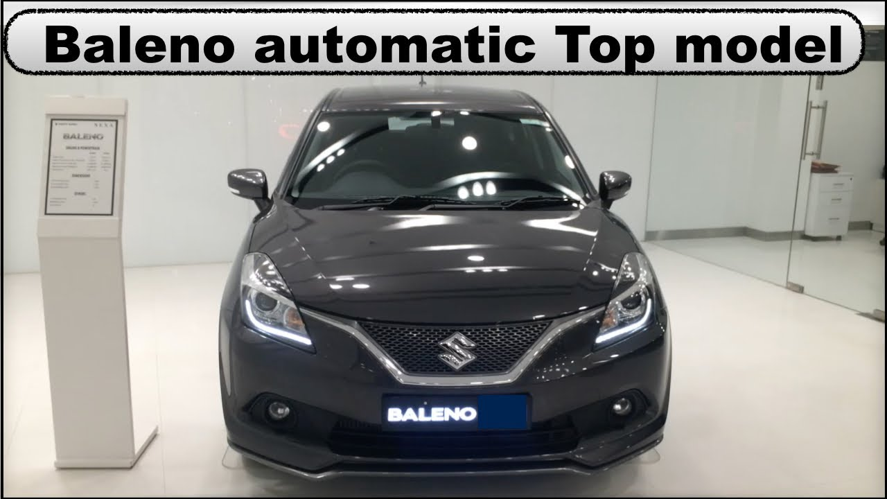 Baleno Top Model Alpha Automatic Cvt Launched Youtube