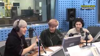 [ENGSUB] 150615 Old School Radio Show xo Chan, Jjong & Junma