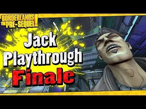 Borderlands The Pre-Sequel | Jack Playthrough Funny Moments And Drops | Finale
