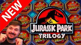 💥💥💥 NEW SLOT ALERT! 💥💥💥 Jurassic Park Trilogy Slot Machine at Dakota Magic Casino