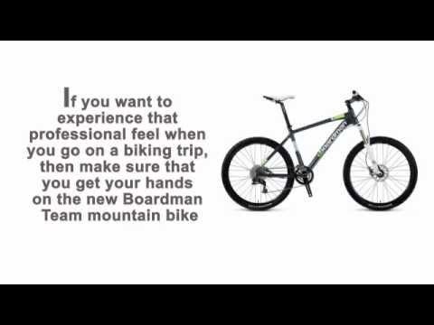 Boardman Team Mountain Bike - Experience that Professional Feel!
