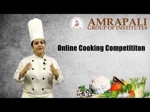 Amrapali Institute Of Hotel Management Haldwani | Online Cooking Competition | Event Teaser