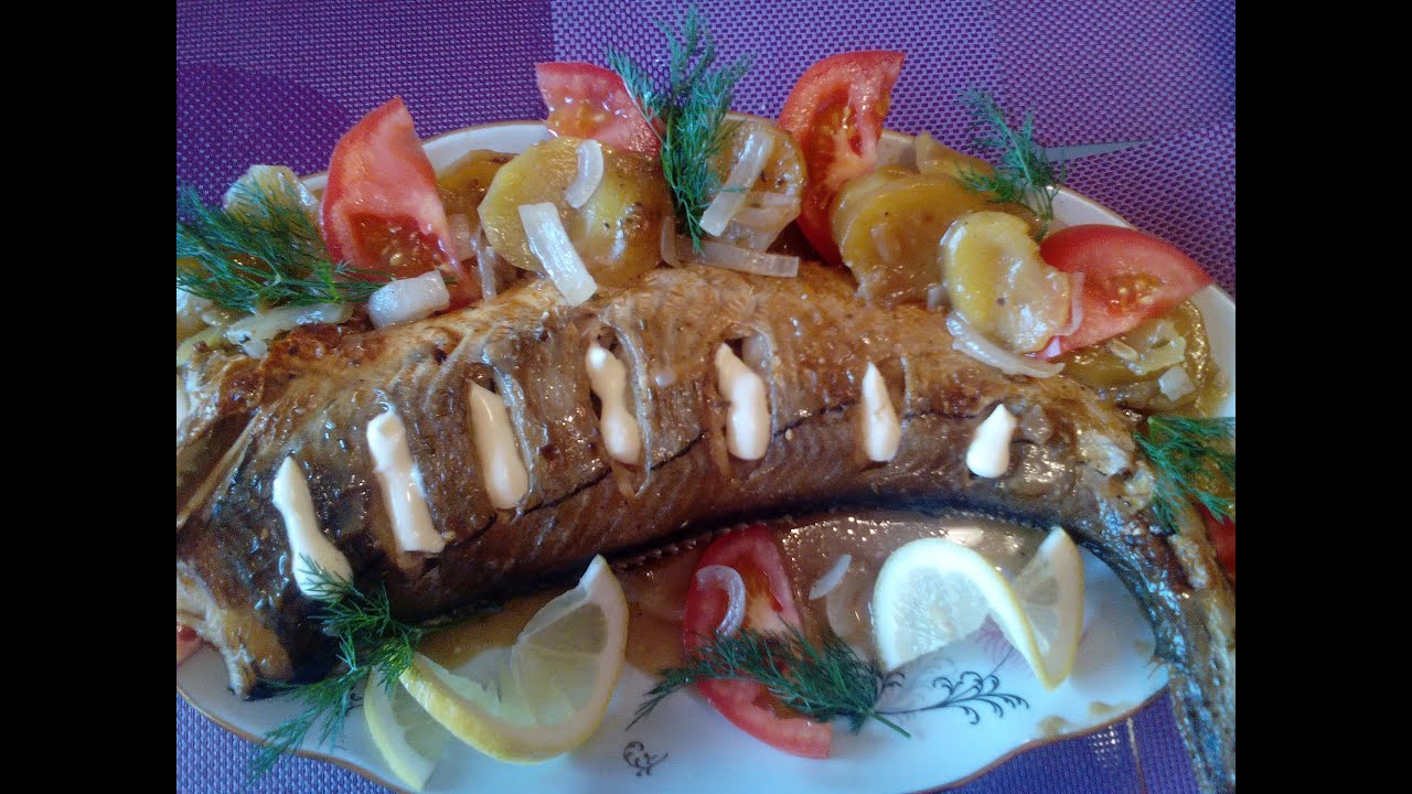 Запеченная рыба в духовке(Пикша).Лучший маринад для рыбы.