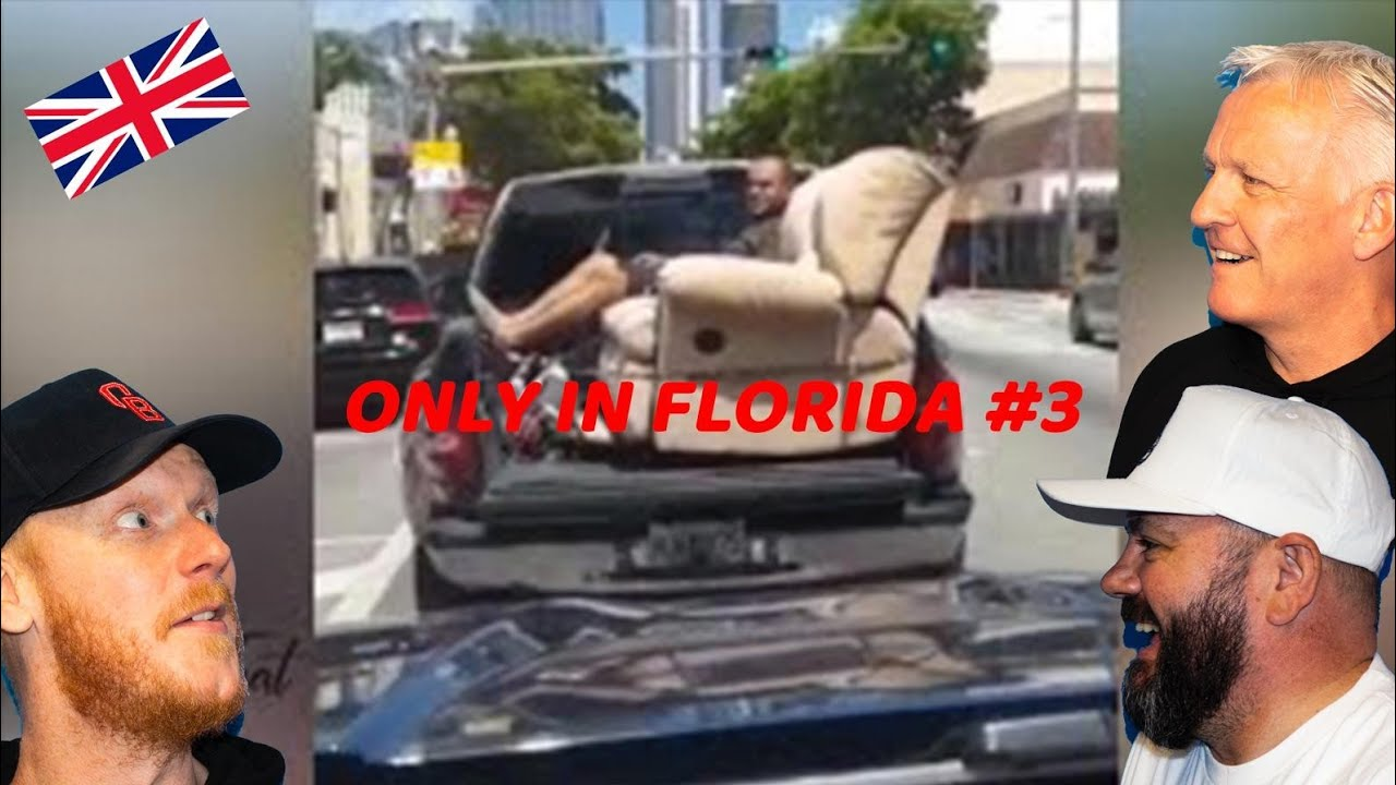 ONLY IN FLORIDA #3 REACTION!!   OFFICE BLOKES REACT!!
