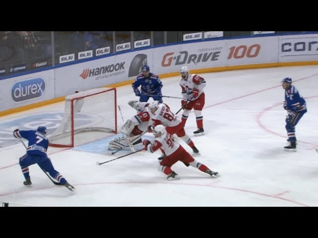 2019 Gagarin Cup, Lokomotiv 0 SKA 1, 13 March 2019 (Series 0-1) #1