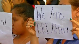 DACA protests, From YouTubeVideos