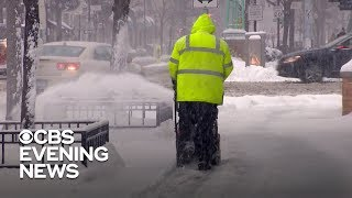 Winter weather impacts travel across the country