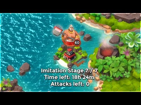 Boom Beach ONLY Super Warriors vs Imitation Game!!