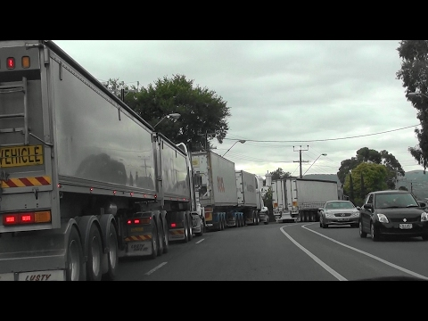 Road & Rail Heavy Freight Greater Adelaide Bypass & Outer Ring Route video Feb 2017