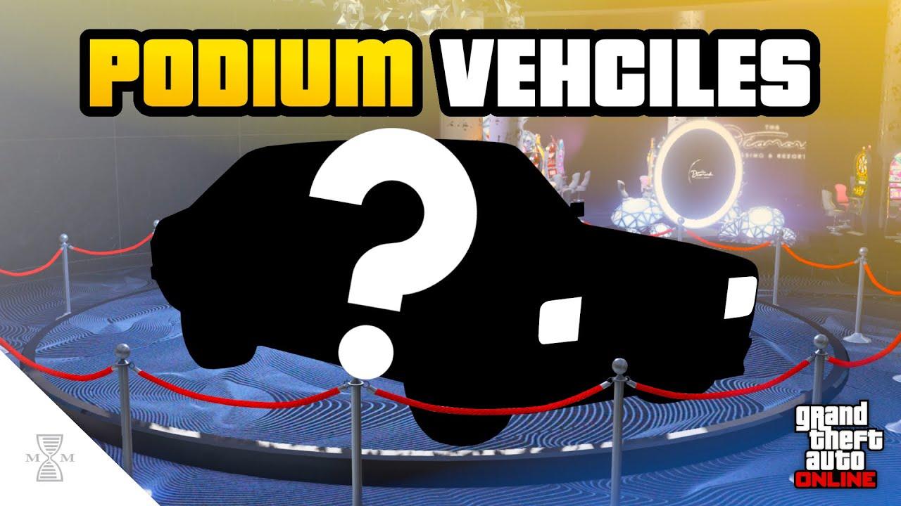 NEW Upcoming Casino Podium Vehicles - UPDATED PODIUM LIST! (GTA Online)