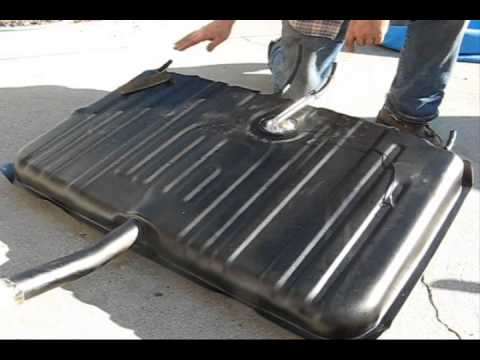 How to install a gas tank on a 70 Chevelle - YouTube