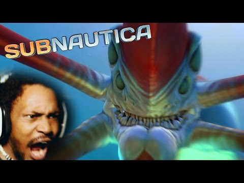 THE LOUDEST YOU WILL EVER HEAR ME SCREAM y am i playin this  Subnautica THE RETURN 11