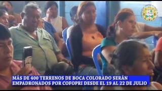 MARCAS: COFOPRI y Municipalidad Distrital de Madre de Dios trabajan titulación de terrenos