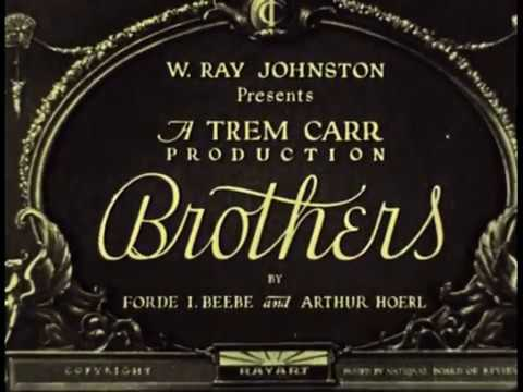 Brothers (1929) Silent Drama available from Grapevine Video