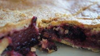Apfel Brombeer Pie - Kuchen  / Apple Bramble Pie - Rezept Und Anleitung