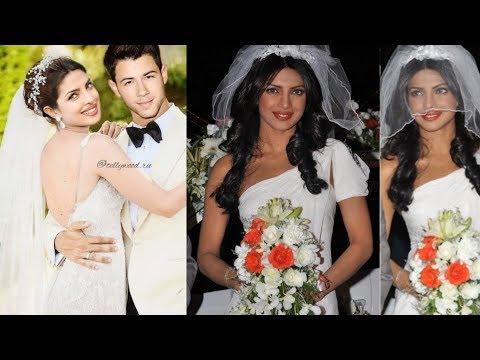 Priyanka Chopra and Nick Jonas look dreamy in their Wedding Dress