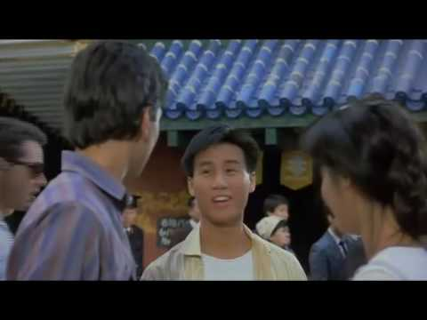 GAYEST  EVER in the HISTORY of Films. The Karate Kid part II  B.D Wong