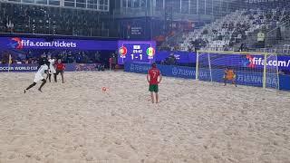 Пляжный футбол ЧМ Португалия Сенегал Пенальти в ворота Португалии 1ый период 22 08 21