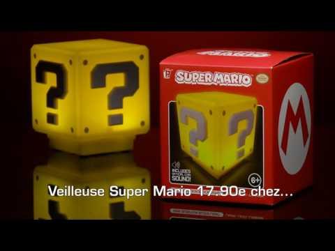 Mini lampe sonore super mario cube mystère super insolite