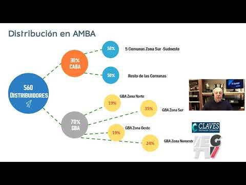 ¿Cómo se distribuyen los comercios de productos eléctricos en la Argentina?