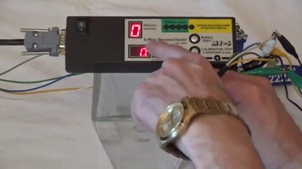 5 Wire overfill sensor tester MT-5 EN13922, Civacon ...
