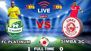 🔴#LIVE: FC PLATINUM vs SIMBA SC ( 1 - 0 ) - LIGI YA MABINGWA AFRIKA, UWANJA wa TAIFA ZIMBABWE..