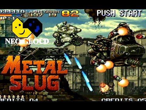 Metal Slug playthrough (Neo Geo CD)